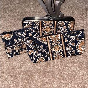 Vera Bradley wallet and accessories